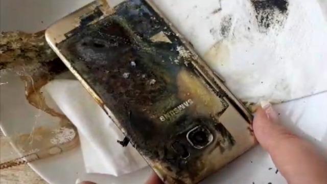 三星Galaxy S7也会自燃