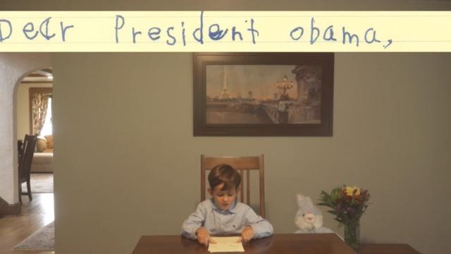 这个6岁小男孩的信,感动奥巴马