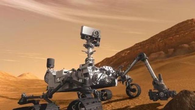 中国首个火星车和火星探测器曝光