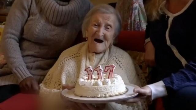 每天吃蛋很少吃果蔬,她已活到117岁