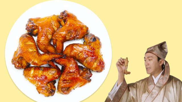 星爷最爱的烤鸡翅膀分分钟就能搞定