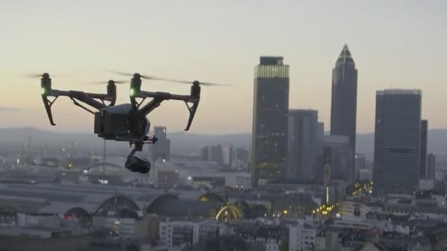 CES上中国宝贝:5万元的大疆无人机