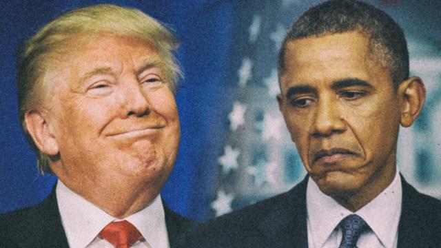 奥巴马告诫川普:推特治国还需谨慎