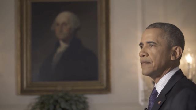回望奥巴马八年,一身都是戏