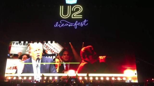 为抗议川普时代开始,U2推迟新专辑