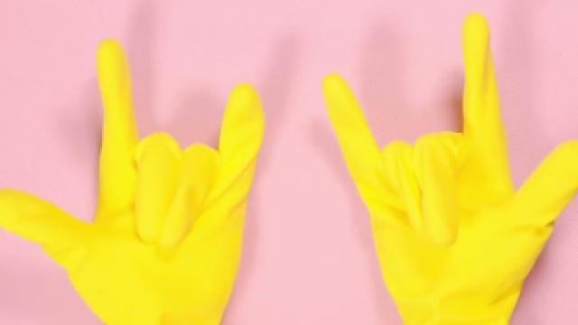 橡胶手套坏了别扔