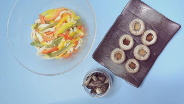 新手最爱,三种简单到极致的烤蘑菇