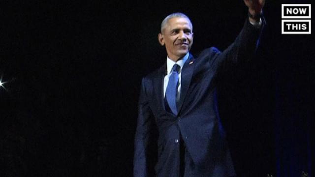 奥巴马告别演说提美国四大挑战