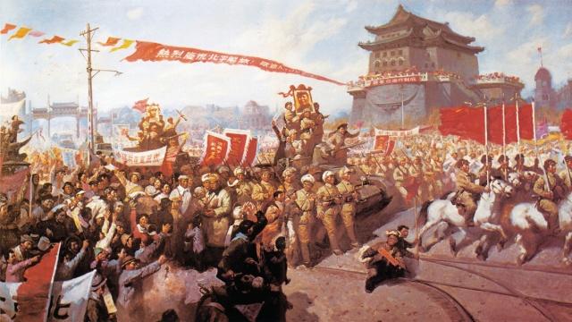 历史上的今天:平津战役胜利