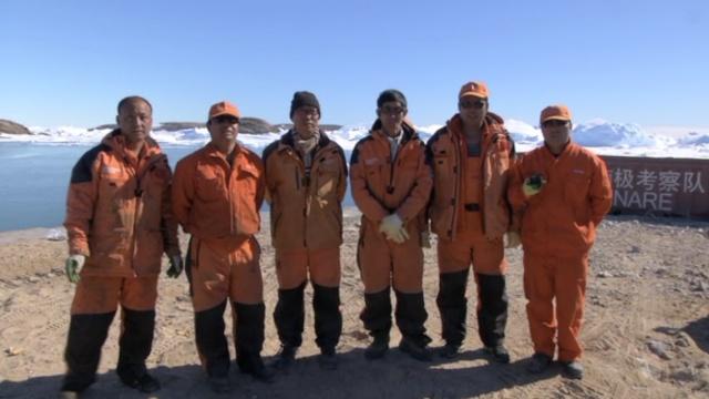 南极科考队员通过梨视频向祖国拜年