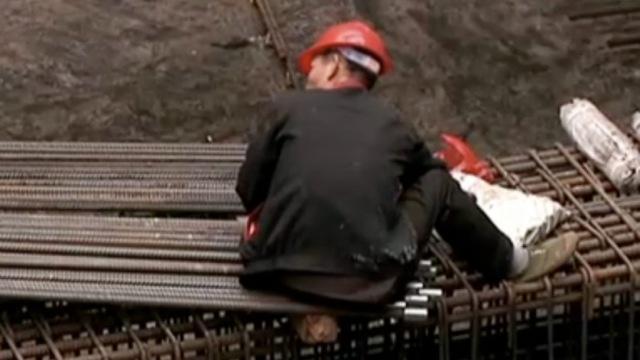 为地铁建设,770人春节坚守工地