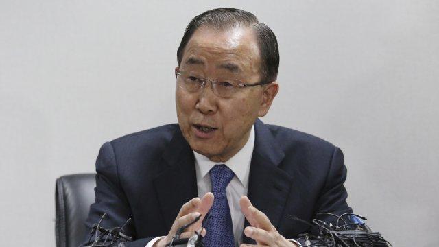 潘基文宣布不参加下届韩国总统竞选