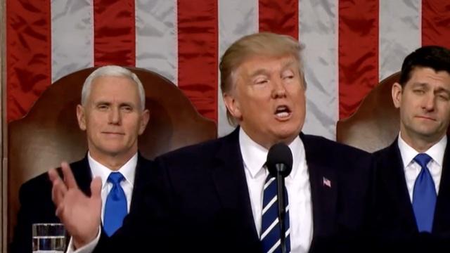 川普衣品提升,外媒:穿得像总统了