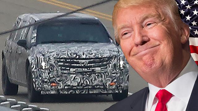 相比前任,川普专车有哪些牛叉功能