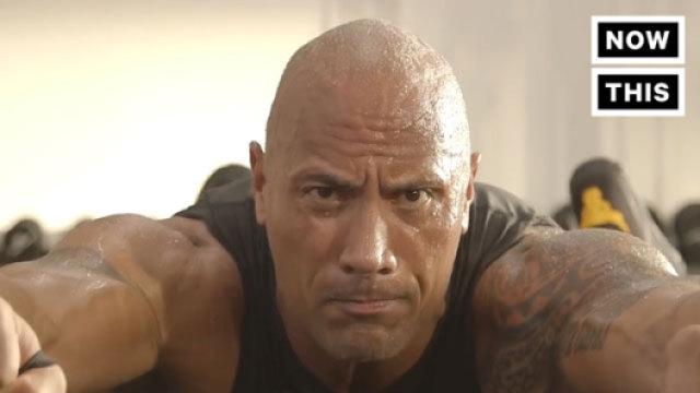 巨石强森健身视频吓坏众人!
