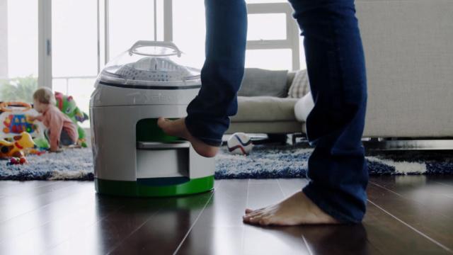 脚踩式人力洗衣机,节约水不费电