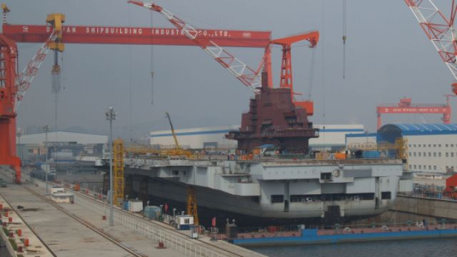 神秘的中国048航母工程