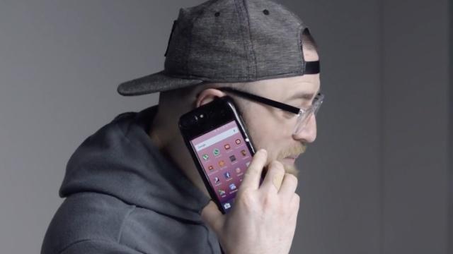 装上这手机壳,苹果秒变苹果安卓机