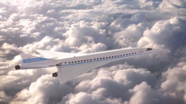 史上最快最经济的超音速客机
