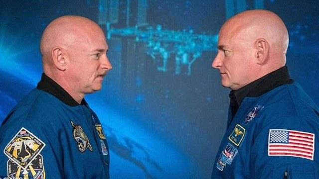 NASA双胞胎航天员:到太空不能长寿