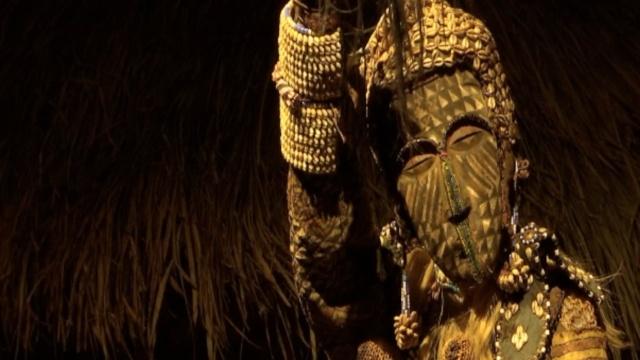 看119件非洲神秘面具,诡异&震撼