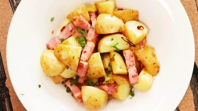 培根香煎小土豆,美味无可阻挡