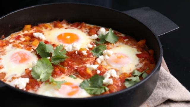 鸡蛋加番茄的洋气吃法!