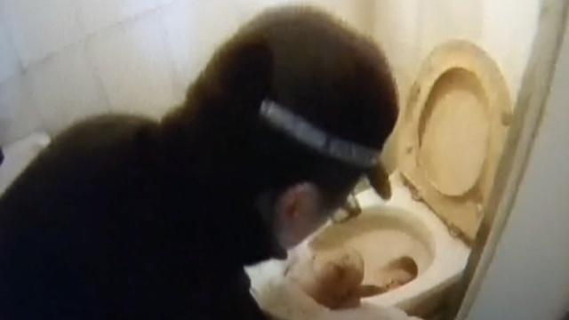 未婚女怀了网友的娃,生在马桶内