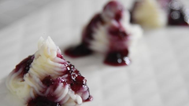 像冰激凌一样的蓝莓山药你吃过吗?