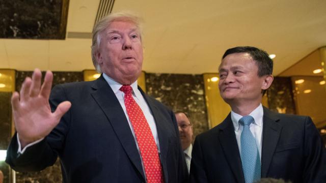 马云要给美国企业开会:来中国卖货