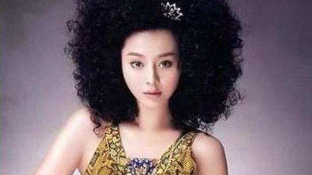 李小璐等一线女星当年奇葩造型