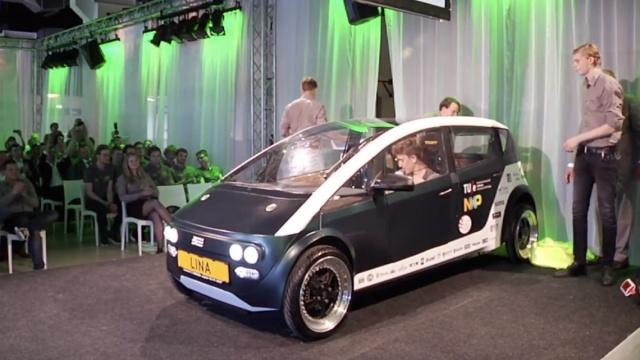 惊艳!这是世界首辆生物材料做的车