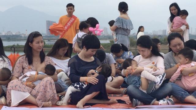 喂爱勇敢!福州130位母亲哺乳快闪
