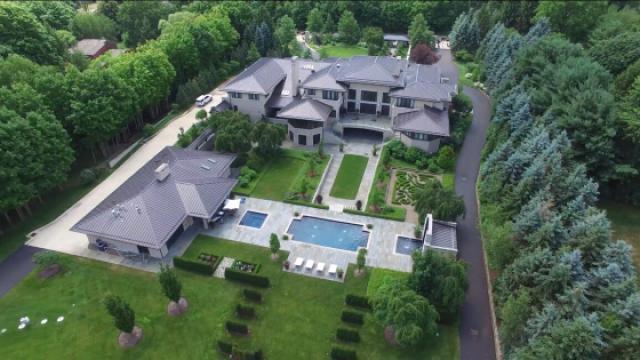 勒布朗詹姆斯在阿克伦市的究极豪宅