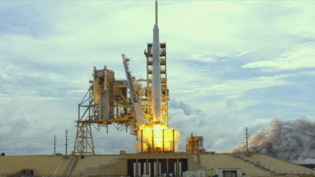 中国实验装置搭乘马斯克火箭上天