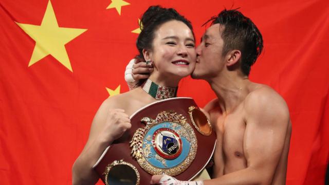 专访|拳王的女人:我为何嫁给邹市明