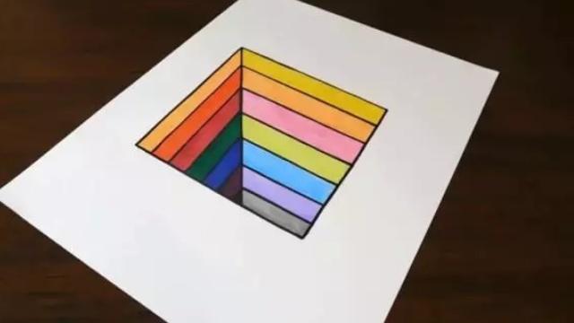自己在家也能画出的3D艺术景象!