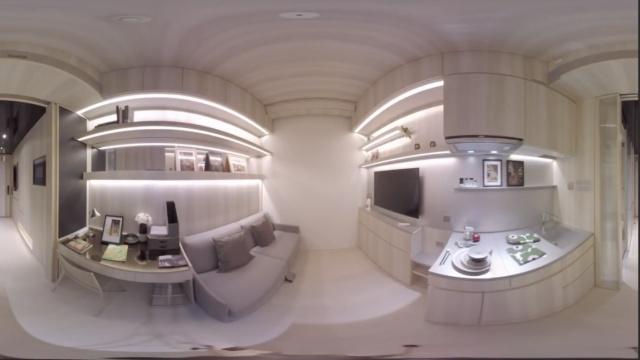香港17平方迷你豪宅:只要60万美元