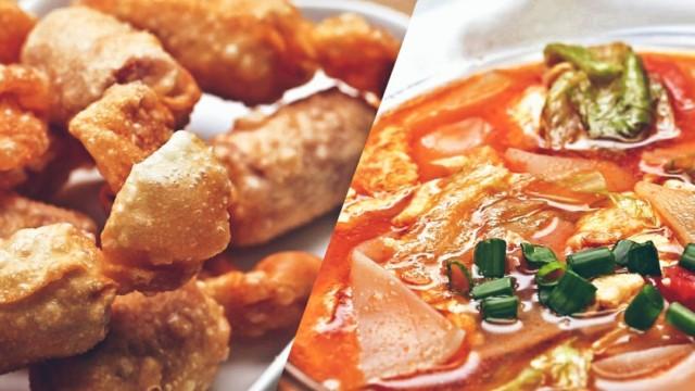 用饺子皮做一道超级好吃的下饭菜!