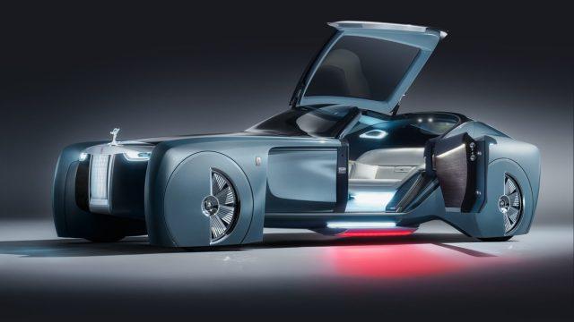 定义未来奢华,劳斯莱斯梦幻概念车