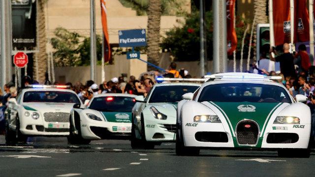 带你去看看,壕到没边的迪拜警车