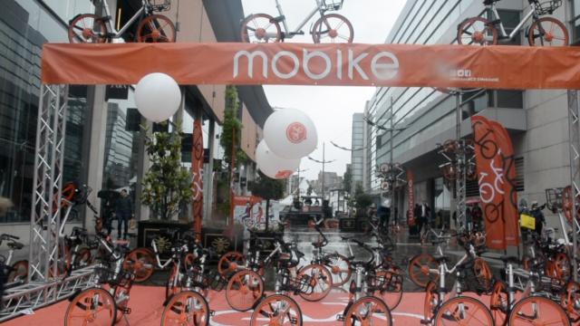 摩拜单车首次入驻曼彻斯特遭吐槽