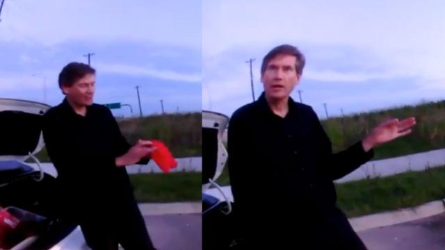魔术师偶遇警察,竟下车即兴