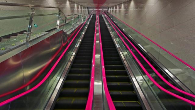 重庆最深地铁站有31层楼高