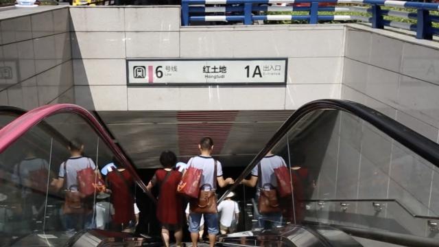 地下60米!实地探访全国最深地铁站