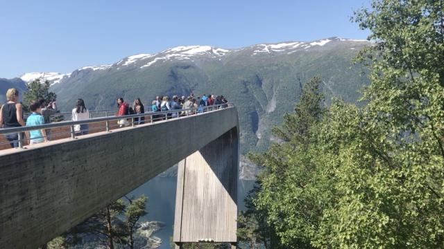 挪威全景观景台,带你回归宁静自然
