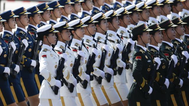 西方国家从不阅兵只有中国阅兵?