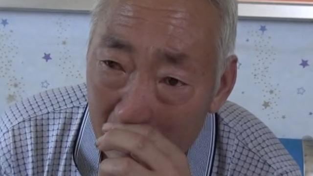 老人找儿子迷路急哭,袋里有一封信