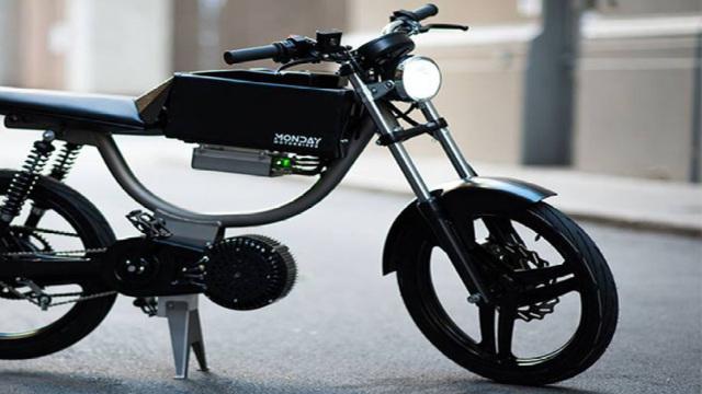 可以脚踏的电动摩托车众筹133万元