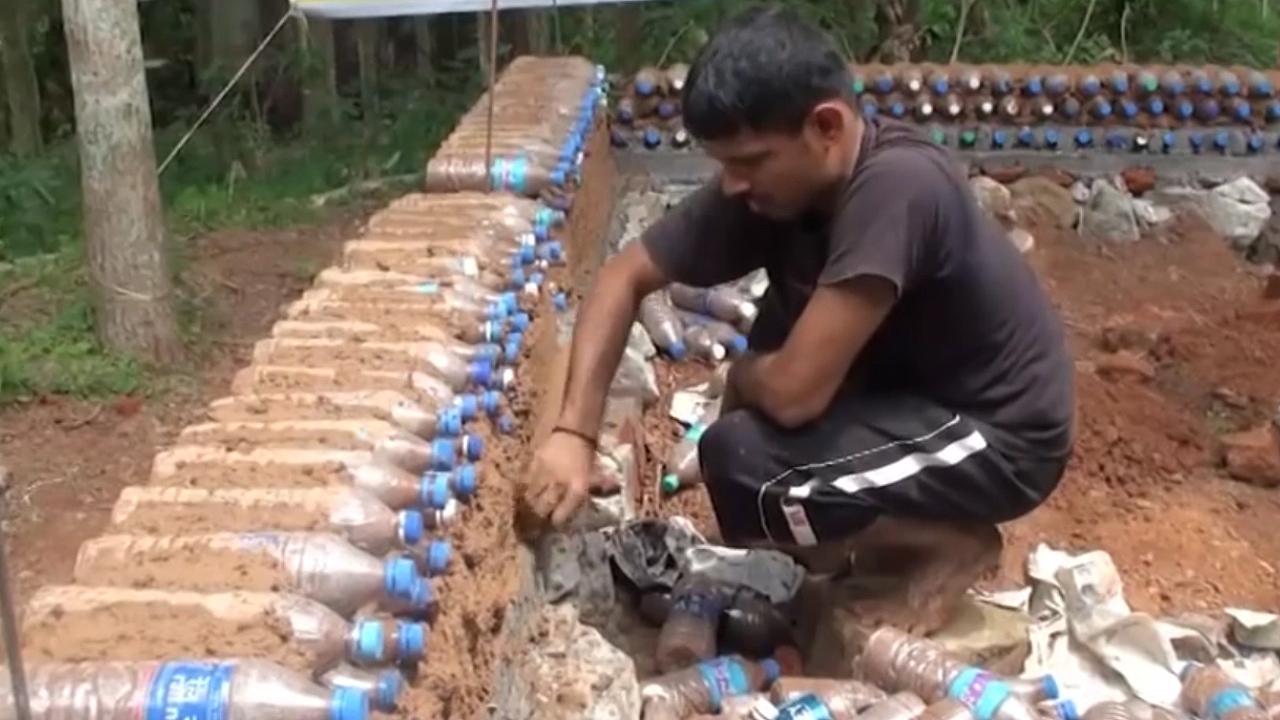 塑料瓶建房子,拯救无数非洲百姓!